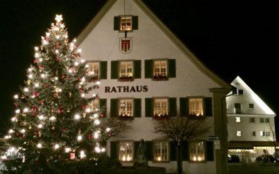 Weihnachten Christbaum