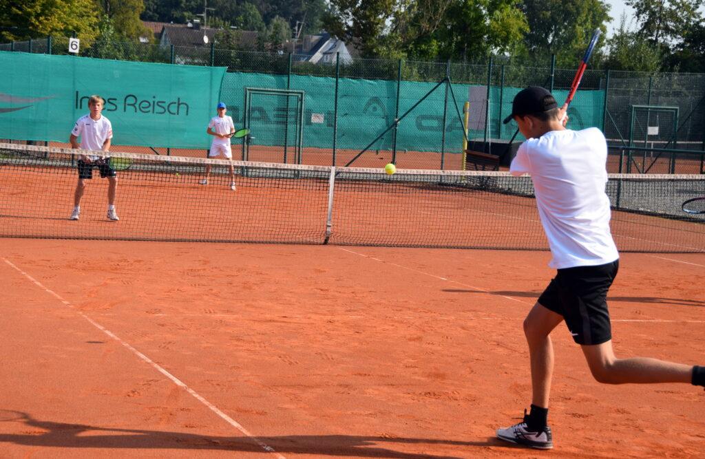 Valentin Lauria im Halbfinale
