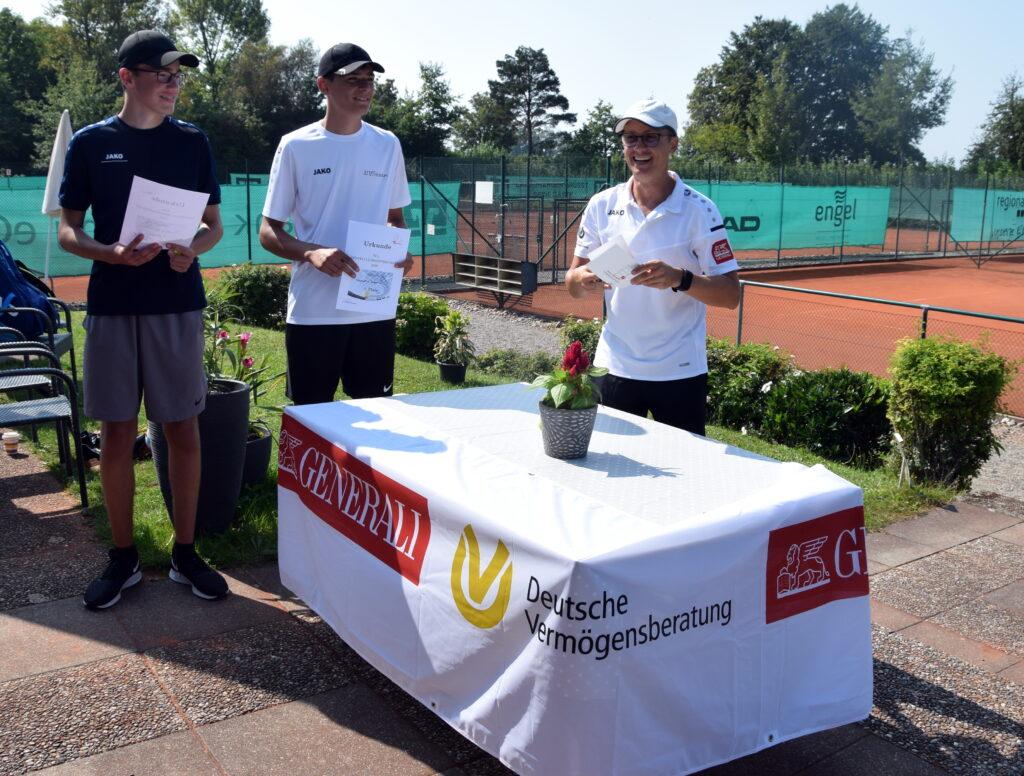 Die Sieger: Nicolas Arnold & Valentin Lauria